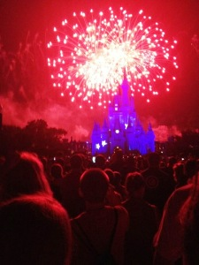 Magic Kingdom Fireworks 8.12.13